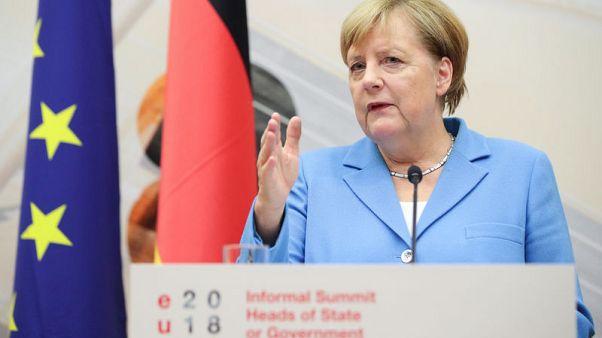 Merkel open to SPD demands on spymaster deal - spokesman
