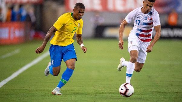 Ct Brasile,no a D.Costa per indisciplina