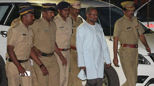 Indian police arrest bishop accused of raping nun in Kerala state