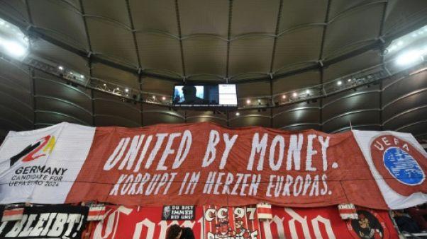 Euro-2024: des ultras de Stuttgart protestent contre la candidature allemande