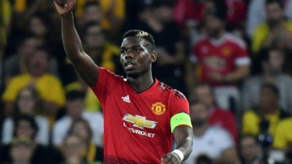 """Mourinho: le """"bonheur et la confiance"""" engrangés au Mondial ont poussé Pogba"""