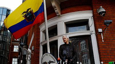Exclusive - Ecuador attempted to give Assange diplomat post in Russia: document