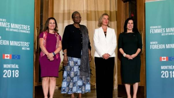 Canada: première réunion de femmes ministres des Affaires étrangères