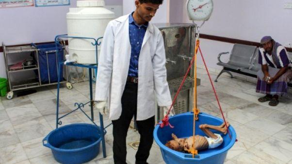 """Yémen: l'ONU dit perdre """"le combat contre la famine"""""""