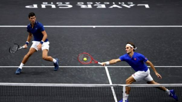 Laver Cup: Federer/Djokovic perdent, l'Europe mène toujours