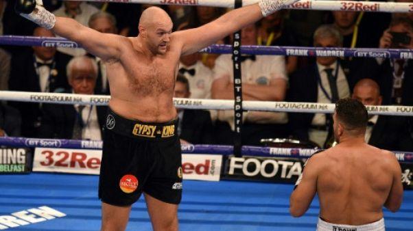 Boxe: Fury défiera Wilder le 1er décembre