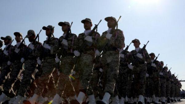 Défilé militaire, le 22 septembre 2015 à Téhéran