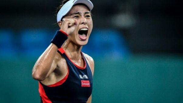 Tennis: Wang décroche un 2e titre à Guangzhou