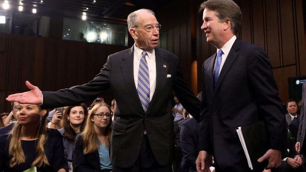 U.S. Senate's Grassley sets Kavanaugh's accuser Saturday deadline for testimony terms - NY Times