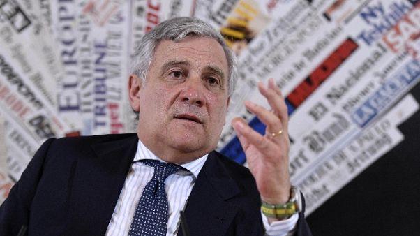 Tajani,Lega-M5s non sarà di lunga durata