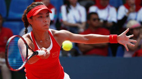 China's Wang wins second WTA title with Guangzhou triumph