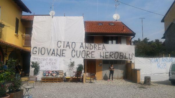 L'ultimo saluto ad Andrea Barone