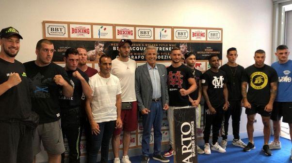 La grande boxe al Foro Italico a Roma