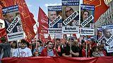 Russie: 3.000 manifestants à Moscou contre la réforme des retraites
