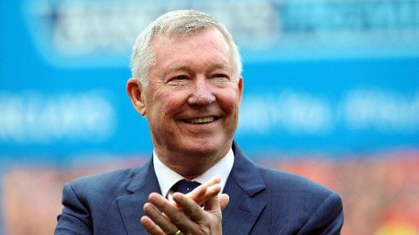 Ferguson torna all'Old Trafford