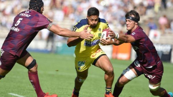 Top 14: un de chute pour Clermont, qui tombe à Bordeaux