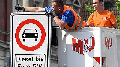 German agency doubts benefits of incentives to trade in old diesels - report