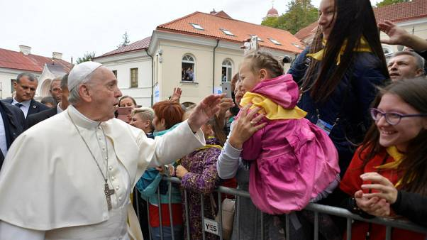 Use lesson of oppression to promote tolerance, Pope urges Lithuania