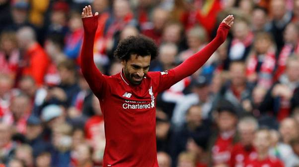 Salah helps Liverpool thrash Southampton to go top
