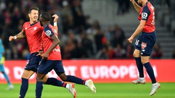 Ligue 1: sans briller, Lille confirme face à Nantes