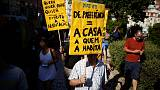 Protesters denounce gentrification in Lisbon as housing prices soar