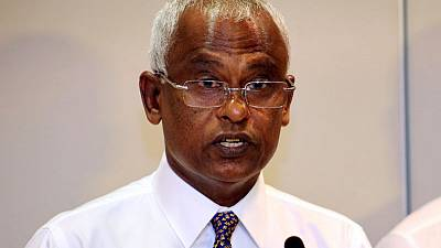Opposition leader Solih tells supporters he won Maldives election