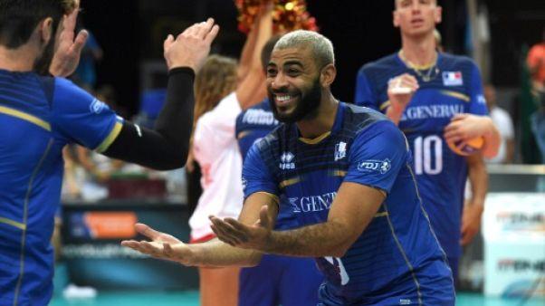 Volley: Ngapeth fait renaître l'espoir des Bleus au Mondial