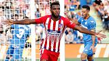 Lemar bursts into life to help Atletico past Getafe