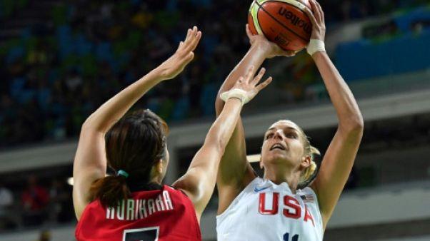 L'Américaine Elena Delle Donne lors des JO de Rio, le 16 août 2016