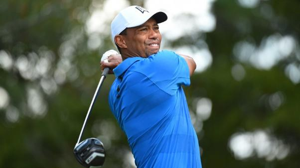 Woods opens four-shot lead during third round at Tour Championship
