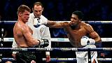 Boxe: Joshua renverse Povetkin tout en puissance