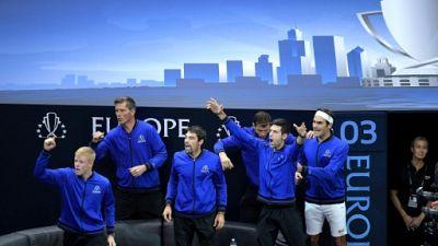 Laver Cup: Federer surclasse Kyrgios, l'Europe s'envole
