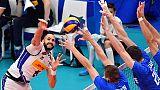 Mondiali volley: Italia-Russia 2-3