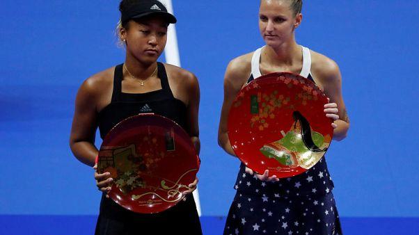 Tennis - Efficient Pliskova proves too strong for 'tired' Osaka