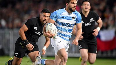 Rugby - Injured Moyano out of Pumas squad for All Blacks clash
