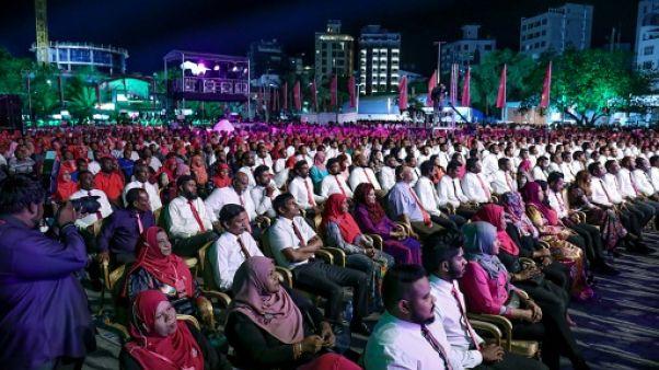 Ouverture des bureaux de vote pour la présidentielle aux Maldives