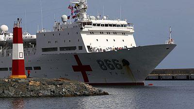 China navy ship makes maiden visit to Venezuela after Maduro visit