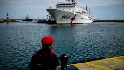 Venezuela: un navire-hôpital chinois apporte une aide médicale gratuite