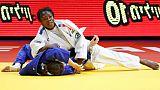 Mondiaux de judo: Agbegnenou (-63 kg) en demi-finales