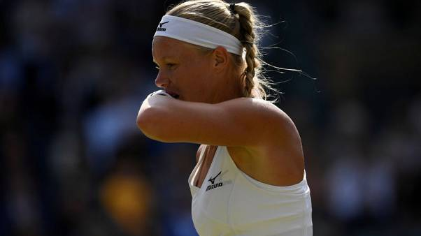 Tennis - Bertens edges out Tomljanovic to claim victory in Korea