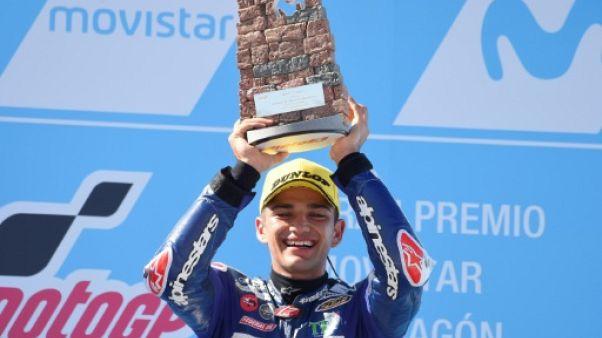 Moto3: Jorge Martin vainqueur en solitaire du GP d'Aragon