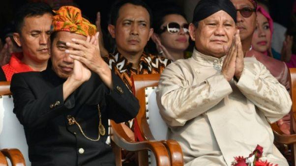 """Indonésie : début de la campagne pour la présidentielle que les candidats veulent """"pacifique"""""""