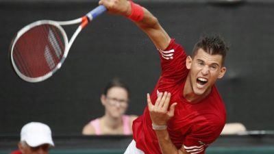 Tennis: Thiem remporte le titre face à Klizan à Saint-Pétersbourg