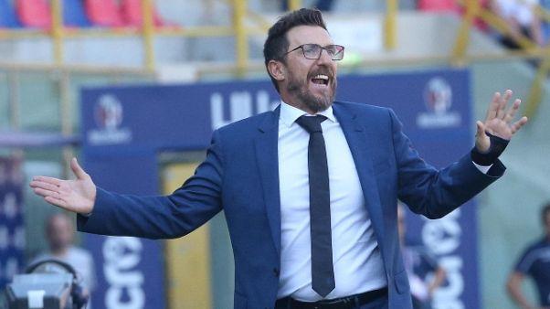 """Di Francesco """"figuracce, ora cambierò"""""""