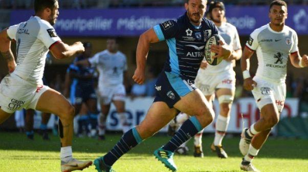 Top 14: Montpellier lamine une équipe de Toulouse bis