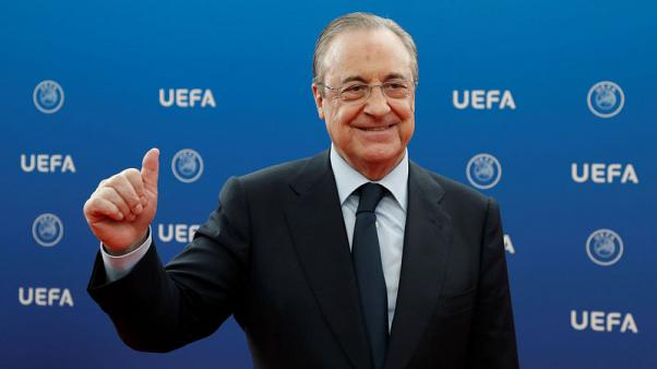 Real president Perez rejects plan to play La Liga games in U.S