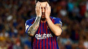Barcellona,solo 2-2 nel derby con Girona