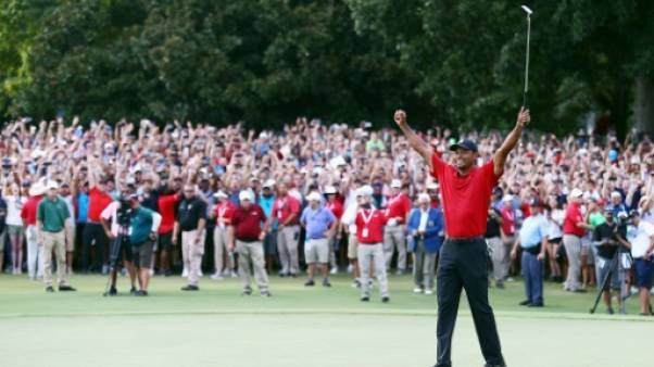 Golf: Tiger Woods, l'improbable et incroyable come-back