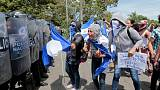 At least one killed as protests rock Nicaragua; Ortega defiant