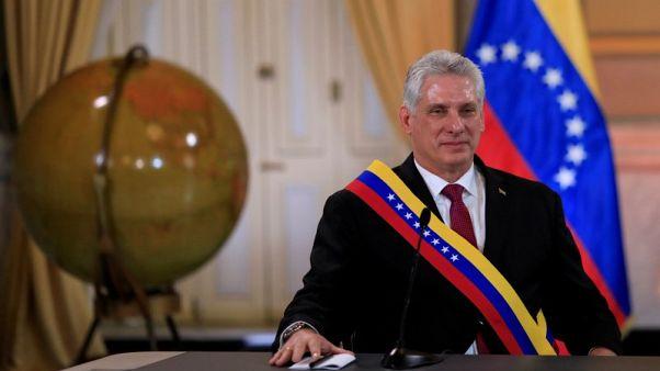 رئيس كوبا الجديد يقوم بأول زيارة للولايات المتحدة